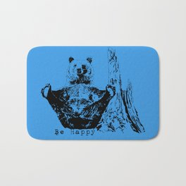 Happy To Bear It With You Bath Mat