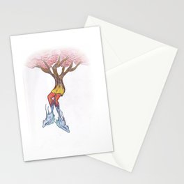 Fish Legs Stationery Cards