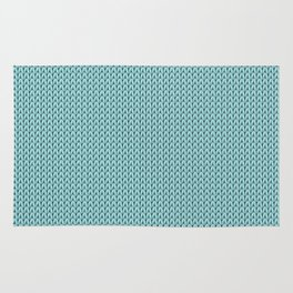 Knitted spring colors - Pantone Island Paradise Rug