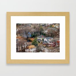 The Old Neighborhood Framed Art Print