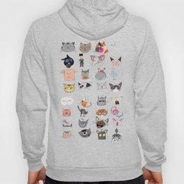 The Many Moods of Cats Hoody