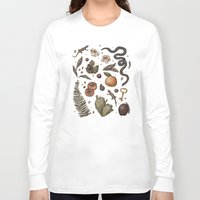 georgia Long Sleeve T-shirts featuring Georgia Nature Walks by Jessica Roux