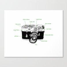 leica diagram Canvas Print