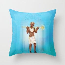 Greek Gods - Apollo Throw Pillow