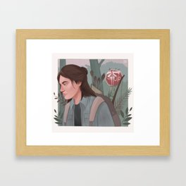 Ellie (The Last Of Us) Framed Art Print