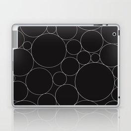 Circular Collage - Black & White I Laptop & iPad Skin