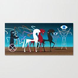 Charioteer Canvas Print