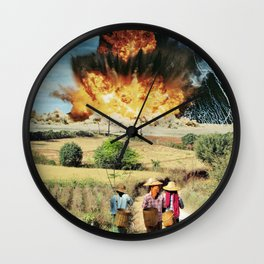 Reap what you sow Wall Clock