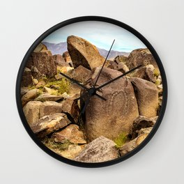 Lithic Wall Clock