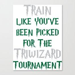 Slytherin Triwizard Training Canvas Print