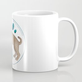 Smilodon fatalis with chrysocolla Coffee Mug