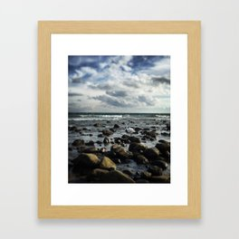 Get Your Feet Wet Framed Art Print