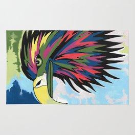 Spirited Eagle Rug