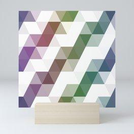 Rainbow Triangles Mini Art Print