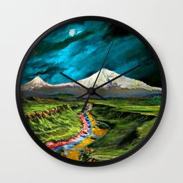 Our River Wall Clock