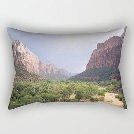 Escape To Zion Rectangular Pillow