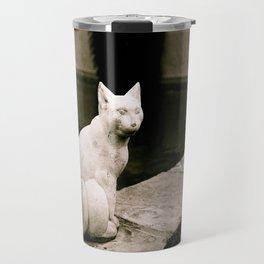 Concrete Cat Travel Mug