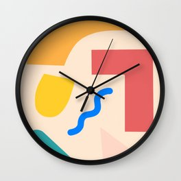 Every race in the world Wall Clock