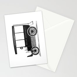 Police car Stationery Cards