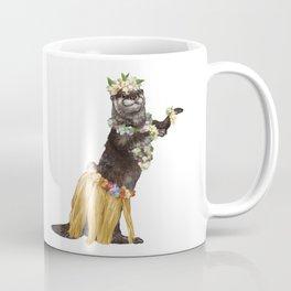 Otter the Hawaiian Dancer Coffee Mug