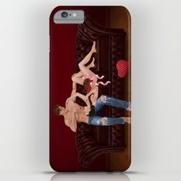chesterfield & chocolate iPhone Case