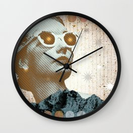 He Films The Clouds Pt.2 Wall Clock