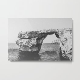 SOMEWHERE Metal Print