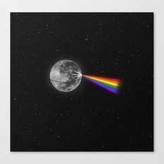 The Dark Side of the Moon Canvas Print