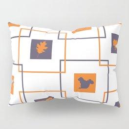 Squirrels Squared Pillow Sham