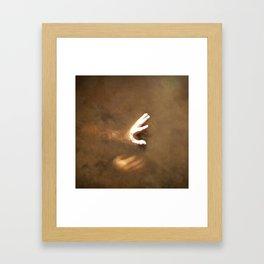 Dirty Water Framed Art Print