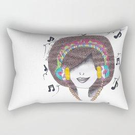 365 cabelos - Dance Rectangular Pillow