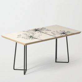 Dandelions Coffee Table