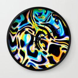 Marbled XI Wall Clock