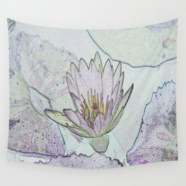 Waterlily Abstract Wall Tapestry