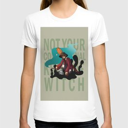 Not Your Conventional Kind of Witch T-shirt