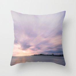 Serene Sunset at Anse Vata Bay in New Caledonia. Throw Pillow