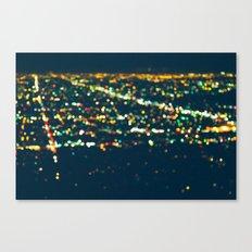 LA Stars Canvas Print