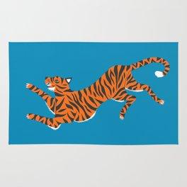 Blue Tiger Rug