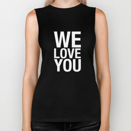THE WE LOVE YOU PROJECT Biker Tank