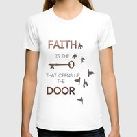 faith T-shirts featuring Faith by georgiedavey