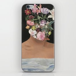 Thoughts In Bloom iPhone Skin