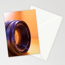 Camera Lense Stationery Cards
