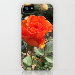 Nameless Rose iPhone Case