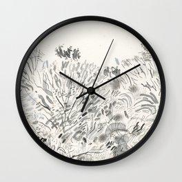 Zwarte Weg Wall Clock