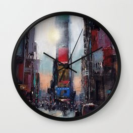 The Times They Are A Changing Wall Clock