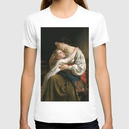 """William-Adolphe Bouguereau """"Getting Up (Le Lever)"""" T-shirt"""