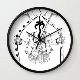 Cossack roots Wall Clock