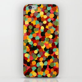 Dots on Dots on Dots iPhone Skin