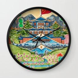 The Nightingale Series - 1 of 8 Wall Clock