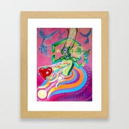 """Love AmBASSador"" by Adam France Framed Art Print"